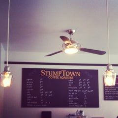 Photo taken at Stumptown Coffee Roasters by Luke B. on 4/16/2012