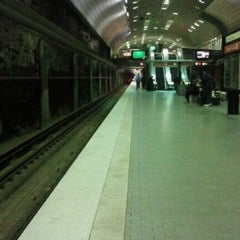 Photo taken at MARTA - Peachtree Center Station by Brandon L. on 2/15/2012