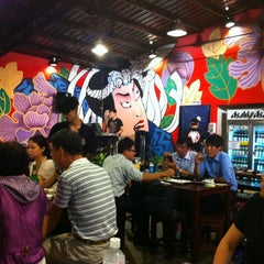 Photo taken at 喜樂天串燒熱炒 by Sandy H. on 8/7/2012