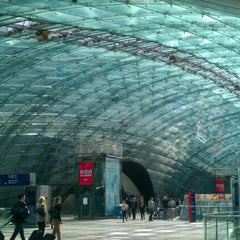 Photo taken at Frankfurt (Main) Flughafen Fernbahnhof by Paulo M. on 6/14/2012