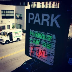 Photo taken at Parking Can Be Fun by Sean D. on 8/22/2012