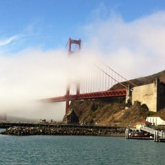 Photo taken at Cavallo Point Lodge by Chris G. on 8/9/2012
