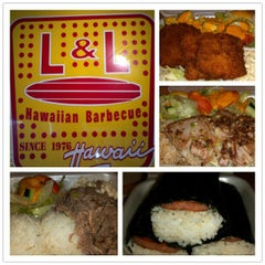 Photo taken at L & L Hawaiian Barbecue by Manny L. on 9/8/2012