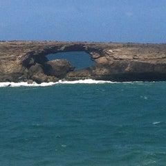 Photo taken at Laie Point by ❤Ƙҽ ժ. on 8/14/2012