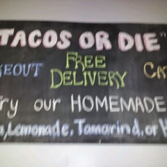 Photo taken at OMG Taco by Giselle C. on 2/21/2012