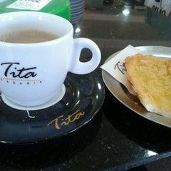 Photo taken at Padaria Lady Tita by Alexandre G. on 8/11/2012