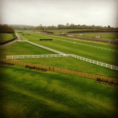 Photo taken at Lingfield Park Racecourse by Derya Y. on 5/9/2012