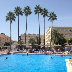 Photo taken at Hotel Santa Ponsa Park by Kelya R. on 8/21/2012