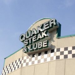 Photo taken at Quaker Steak & Lube® by Andrew on 7/6/2012