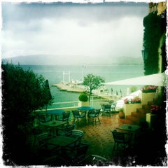 Photo taken at Hôtel Belles Rives by Cristiano M. on 4/14/2012