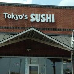 Photo taken at Tokyo Sushi by Lynn H. on 5/25/2012