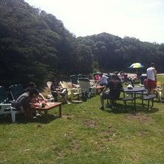 Photo taken at Park Chalet Garden Restaurant by virginie d. on 5/6/2012