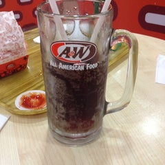 Photo taken at A&W by mohamed m. on 4/7/2012