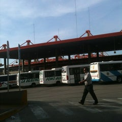 Photo taken at Terminal de ómnibus de Córdoba by Victor G. on 5/6/2012
