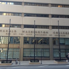 Photo taken at Harold Washington College by Mike T. on 7/28/2012