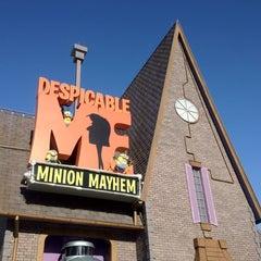 Photo taken at Despicable Me: Minion Mayhem by Dawn W. on 6/28/2012