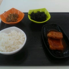 Photo taken at KAIST 동측식당 by youngjin y. on 8/9/2012