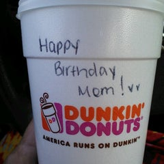 Photo taken at Dunkin' Donuts by Stacy W. on 8/3/2012
