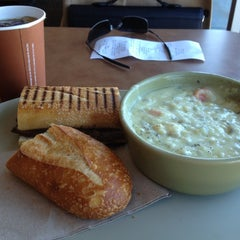 Photo taken at Panera Bread by Seung Min 'Mel' Y. on 4/24/2012