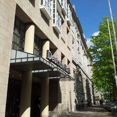Photo taken at Deutsche Bank by Vla K. on 4/23/2012
