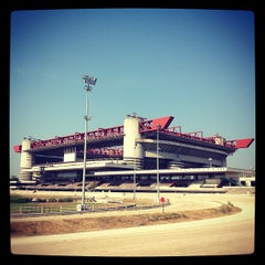 """Photo taken at Stadio San Siro """"Giuseppe Meazza"""" by Kazim on 8/18/2012"""