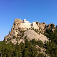 Photo taken at Mount Rushmore National Memorial by Adley on 8/25/2012