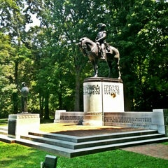 Photo taken at Guilford Courthouse National Military Park by North Carolina on 7/3/2012