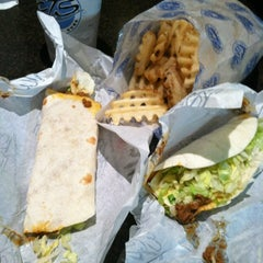 Photo taken at Elmwood Taco & Subs by Tyler on 7/31/2012