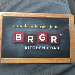 Photo taken at BRGR Kitchen + Bar by wrytir b. on 8/6/2012