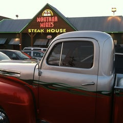 Photo taken at Montana Mike's Steakhouse by Ed A. on 7/15/2012