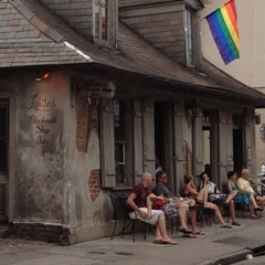 Photo taken at Lafitte's Blacksmith Shop by Chris B. on 8/31/2012