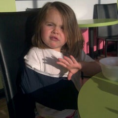 Photo taken at Yogi Frozen Yogurt by Audra C. on 5/21/2012