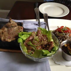 Photo taken at 36 deLux Restaurant by Elsa on 7/6/2012