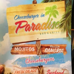 Photo taken at Cheeseburger in Paradise - Secaucus by DeVonta on 6/7/2012
