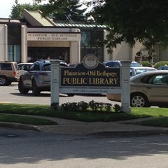Photo taken at Plainview-Old Bethpage Public Library by Joe M. on 6/7/2012