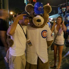 Photo taken at The Cubby Bear by LaJuane J. on 6/19/2012