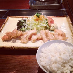Photo taken at 食事処DON by ツルサトシ on 4/7/2012