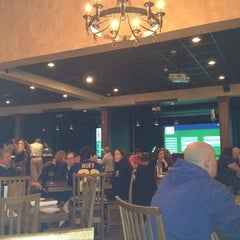 Photo taken at The Frog Hair Grille and Golf by Terri K. on 2/25/2012
