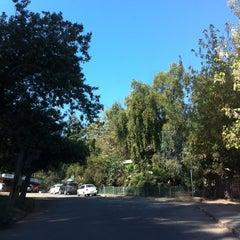 Photo taken at Cerro San Juan by Valeska I. on 3/17/2012