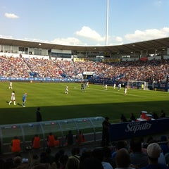 Photo taken at Stade Saputo by Kosta C. on 8/25/2012