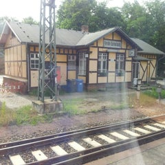 Photo taken at Bahnhof Ferch-Lienewitz by Andreé M. on 6/10/2012