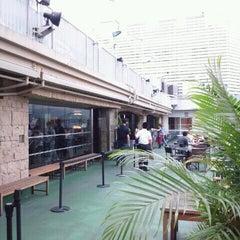 Photo taken at 横浜モアーズ屋上 by morioka s. on 7/19/2012