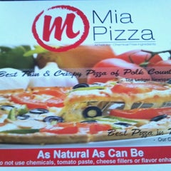 Photo taken at Mia Pizza by Tanya C. on 7/1/2012