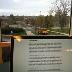 Photo taken at Gleason Library by Khoa N. on 3/30/2012