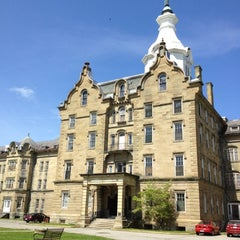 Photo taken at Trans-Allegheny Lunatic Asylum by Jim C. on 4/29/2012
