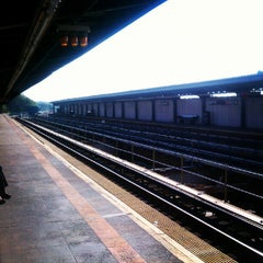 Photo taken at MTA Subway - Cypress Hills (J) by Kerri N. on 8/22/2012