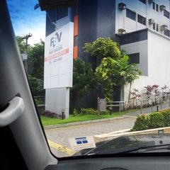 Photo taken at Faculdade Boa Viagem - Campus Boa Vista by Chris N. on 6/16/2012