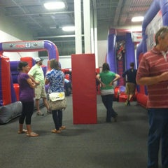 Photo taken at Bounce U by Sam on 5/12/2012