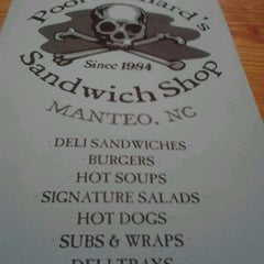 Photo taken at Poor Richard's Sandwich Shop by Jim M. on 4/8/2012