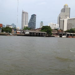 Photo taken at Chao Phraya River by BOOK Warawut L. on 5/25/2012